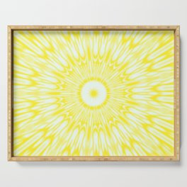 The Sun : Kaleidoscope Mandala Serving Tray