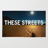 bastille Area & Throw Rugs featuring Bastille - These Streets #2 by Thafrayer