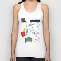 levi Tank Tops featuring Cather and Levi by Book Spectacle