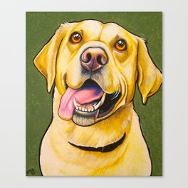 The Fab Golden Lab Canvas Print