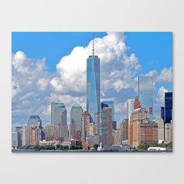 Riding the Staten Island Ferry Canvas Print