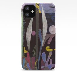 Landscape With Yellow Birds Paul Klee iPhone Case