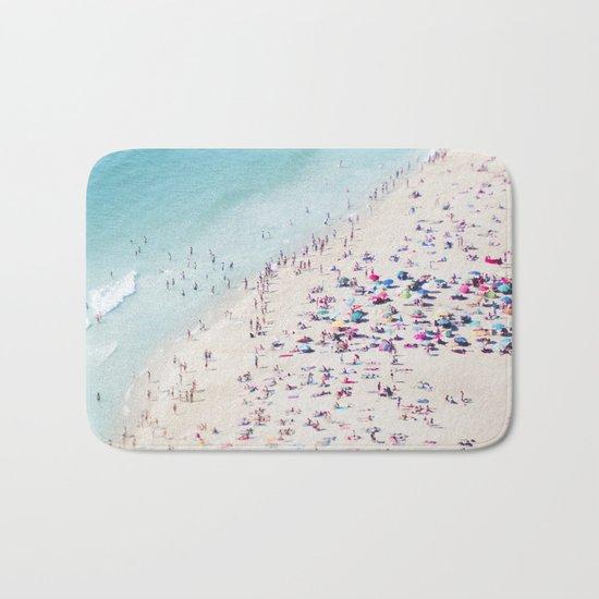 beach - summer love Bath Mat