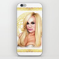 versace iPhone & iPod Skins featuring Donatella Versace by Denda Reloaded