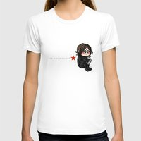 winter soldier T-shirts featuring The winter Soldier by MaliceZ