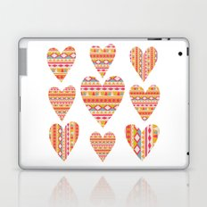 hearts design Laptop & iPad Skin