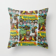 the Averagers Throw Pillow