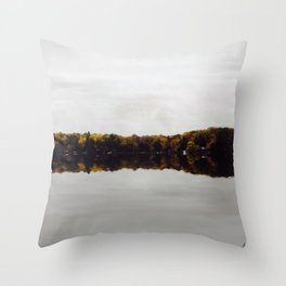 Existing on Glass Throw Pillow
