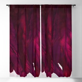 Cranberry Feathers Blackout Curtain