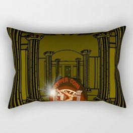 Necropolis Coin Copper at Twilight 5 Rectangular Pillow