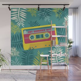 Hot Summer Hits - Retro Tape Wall Mural