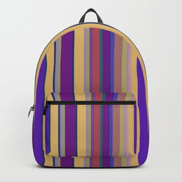 awning stripe Backpack