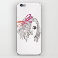 bow iPhone & iPod Skins featuring Bow by spllinter