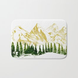 mountain # 8 Bath Mat