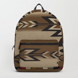 American Native Pattern No. 190 Backpack