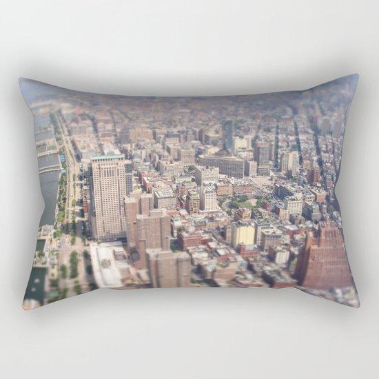 Tiny City - New York City Rectangular Pillow