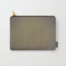 Abstract olive beige green Carry-All Pouch