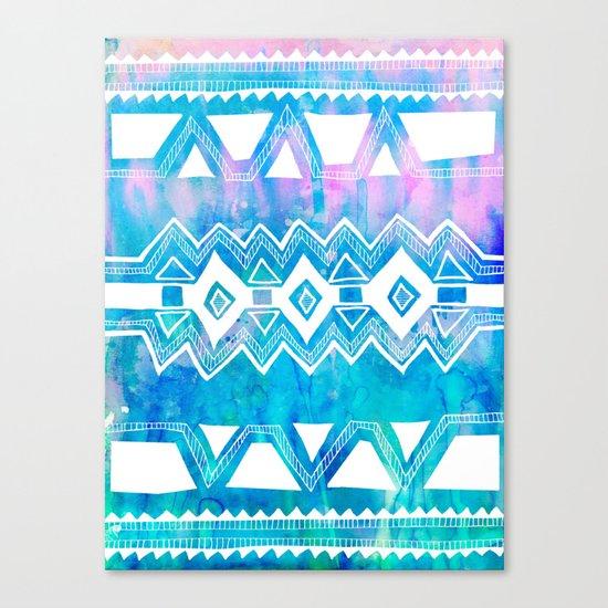PATTERN {Tribal 002} Canvas Print