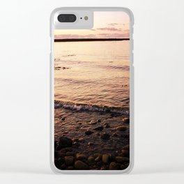 Red Skies Clear iPhone Case