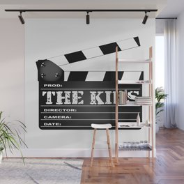 The Kids Clapperboard Wall Mural