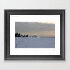 Winter I Framed Art Print