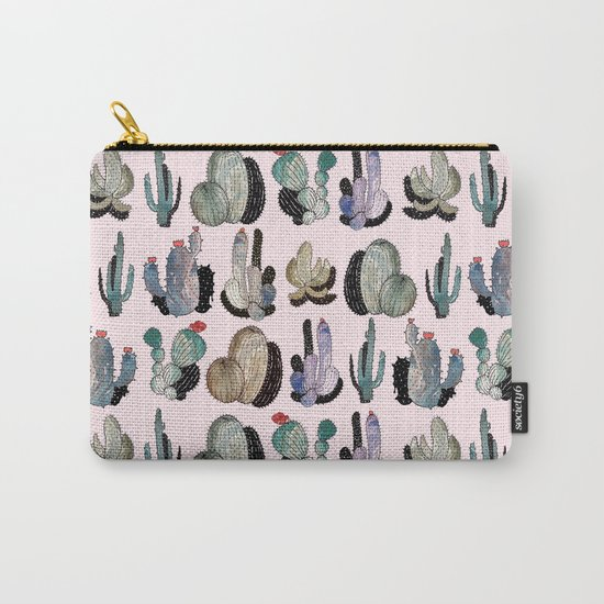 cactus something Carry-All Pouch
