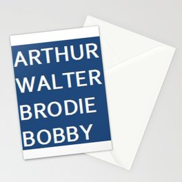 The Good, The Bad & The Dugly Stationery Cards