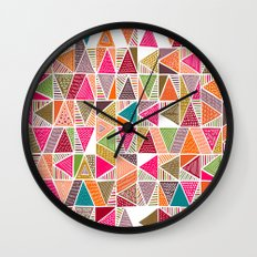 Roof Colorful Wall Clock