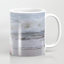 Nude Redhead Woman On Beach Coffee Mug