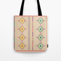 ethnic Tote Bags featuring Ethnic by ShivaR