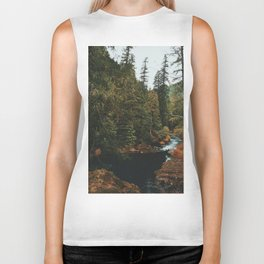 McKenzie River Trail - Blue Pool Biker Tank