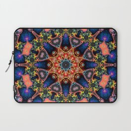 BBQSHOES: Kaleidoscopic Fractal Digital Art Design 1702K Laptop Sleeve