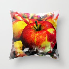 Fruits and berrys I Throw Pillow