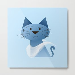 animaligon - Cat Metal Print