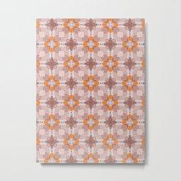 Moroccan flower baskets Metal Print