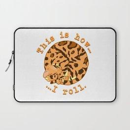 Rolling Cat - Bengal Laptop Sleeve