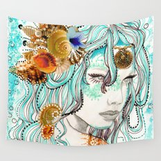 Mermaid Hair Wall Tapestry