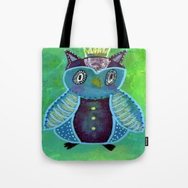 Quirky Bird 3 Tote Bag
