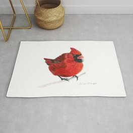 Red by Teresa Thompson Rug