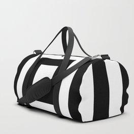 Classic Black White Squares Duffle Bag