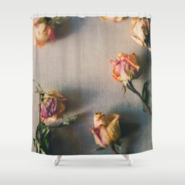 Dried Roses Are Beautiful Too Shower Curtain