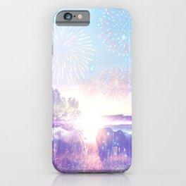 Dreaming landscape iPhone Case