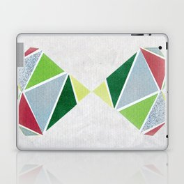 Reflected graphic hearts Laptop & iPad Skin