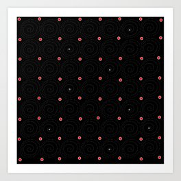 Circular 30 Art Print