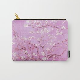 Vincent Van Gogh Almond BlossomS. Pink Lavender Carry-All Pouch