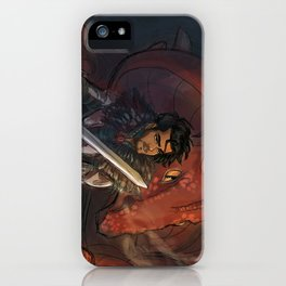 Dragons and Direction: Zayn iPhone Case