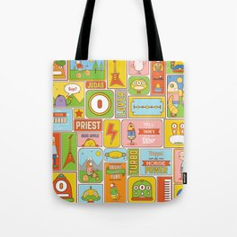 Vector Collage Tote Bag