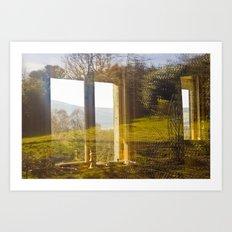 Wicklow Window  Art Print