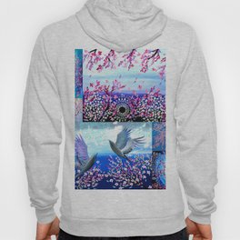 Cherry Blossom Collage Hoody