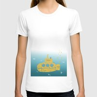 sia T-shirts featuring YELLOW SUBMARINE by ARCHIGRAF